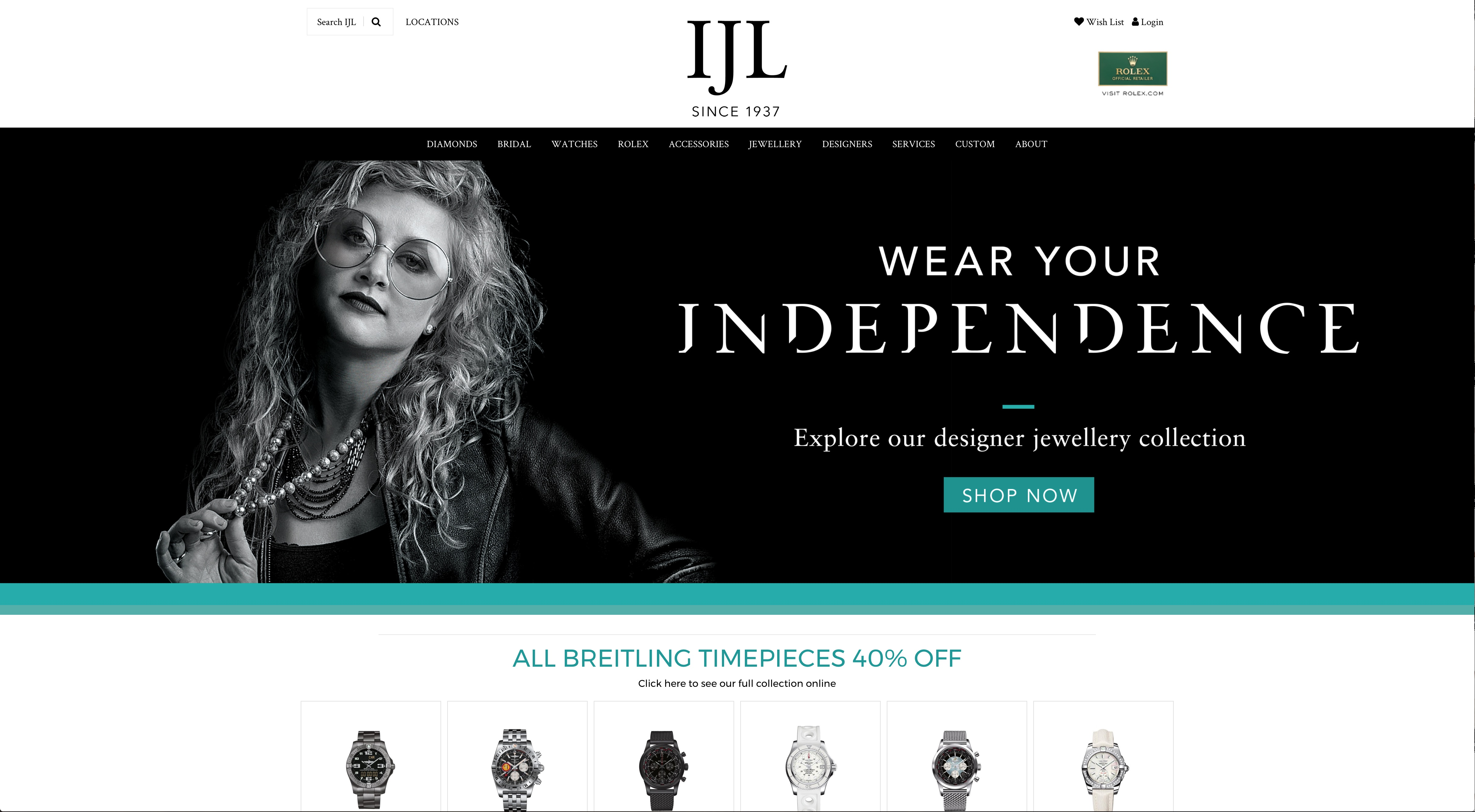 Ad Campaign for Independant Jewellers