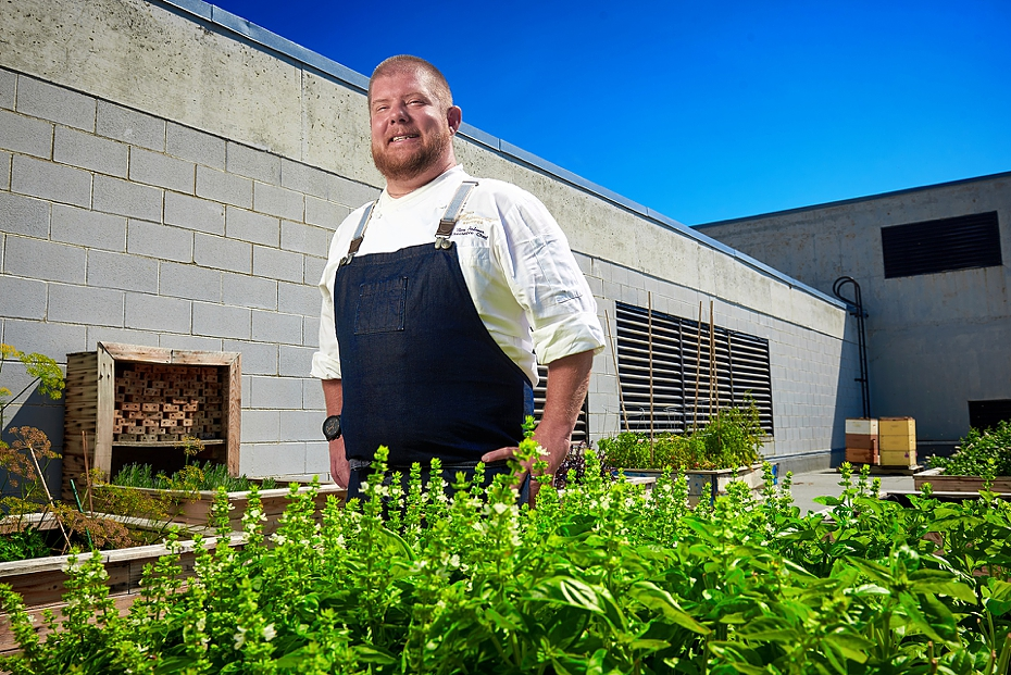 Chef Timothy Palmer, VG at the Farimont Winnipeg for The Cellar Door