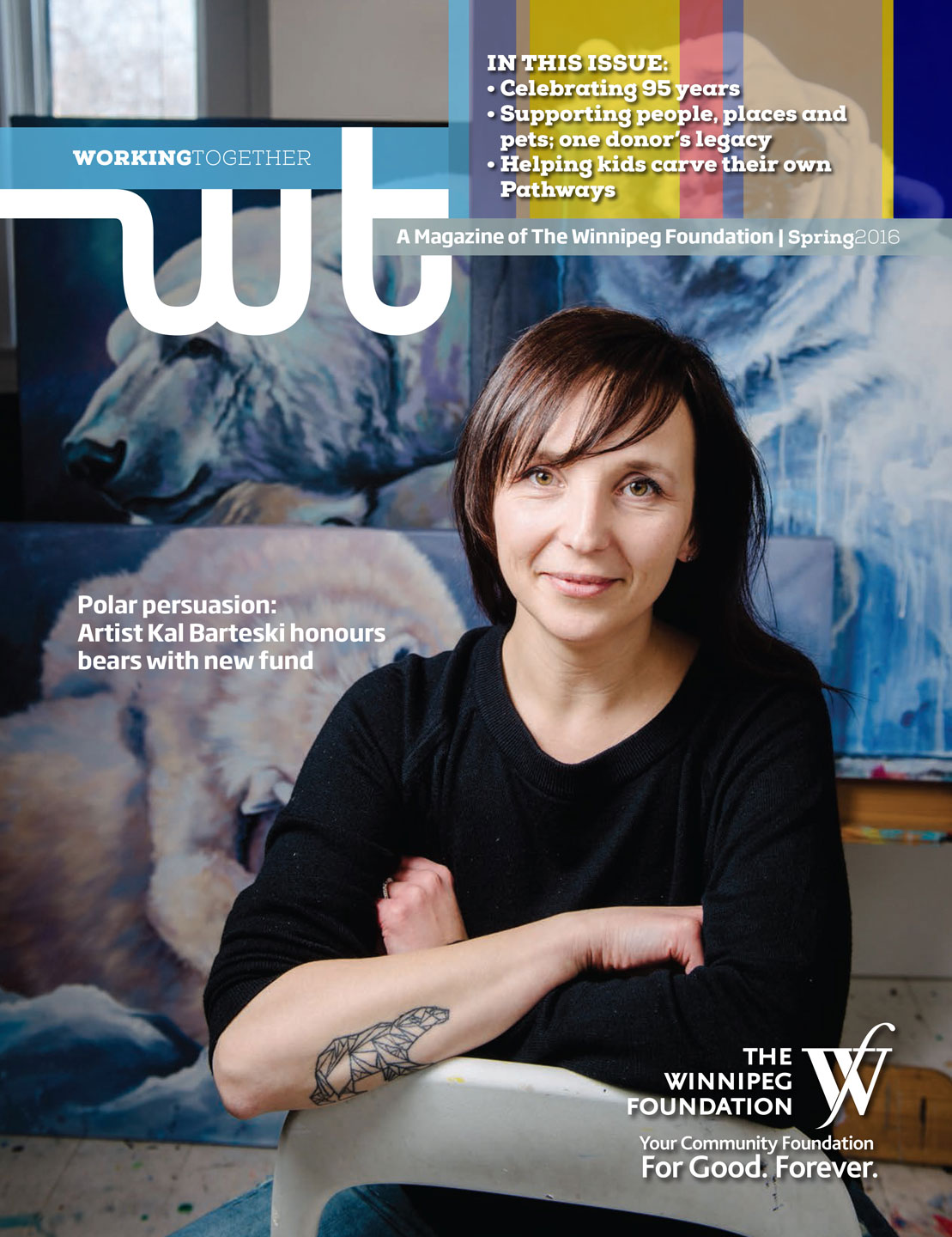 Winnipeg Foundation magazine Working Together